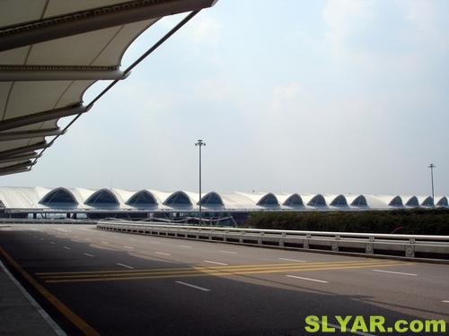 回家,广州新白云国际机场