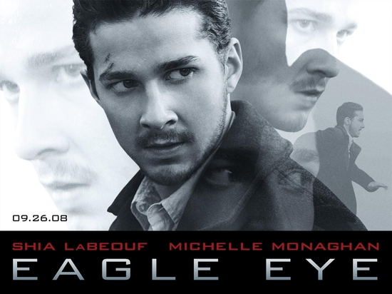 下午看了电影《鹰眼》(Eagle Eye)