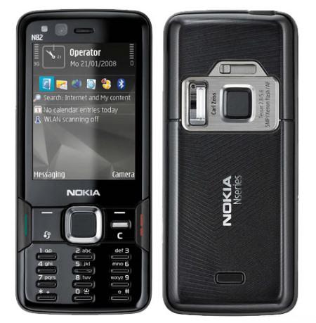 入手国行NOKIA N82(黑色导航版)