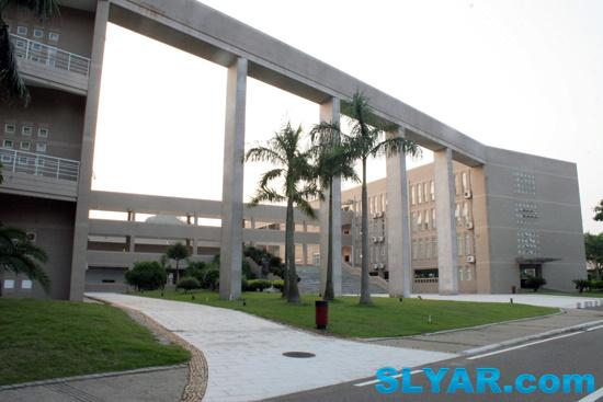 Slyar Home Blog Archive 北京师范大学珠海分校 第一教学楼 励耘楼