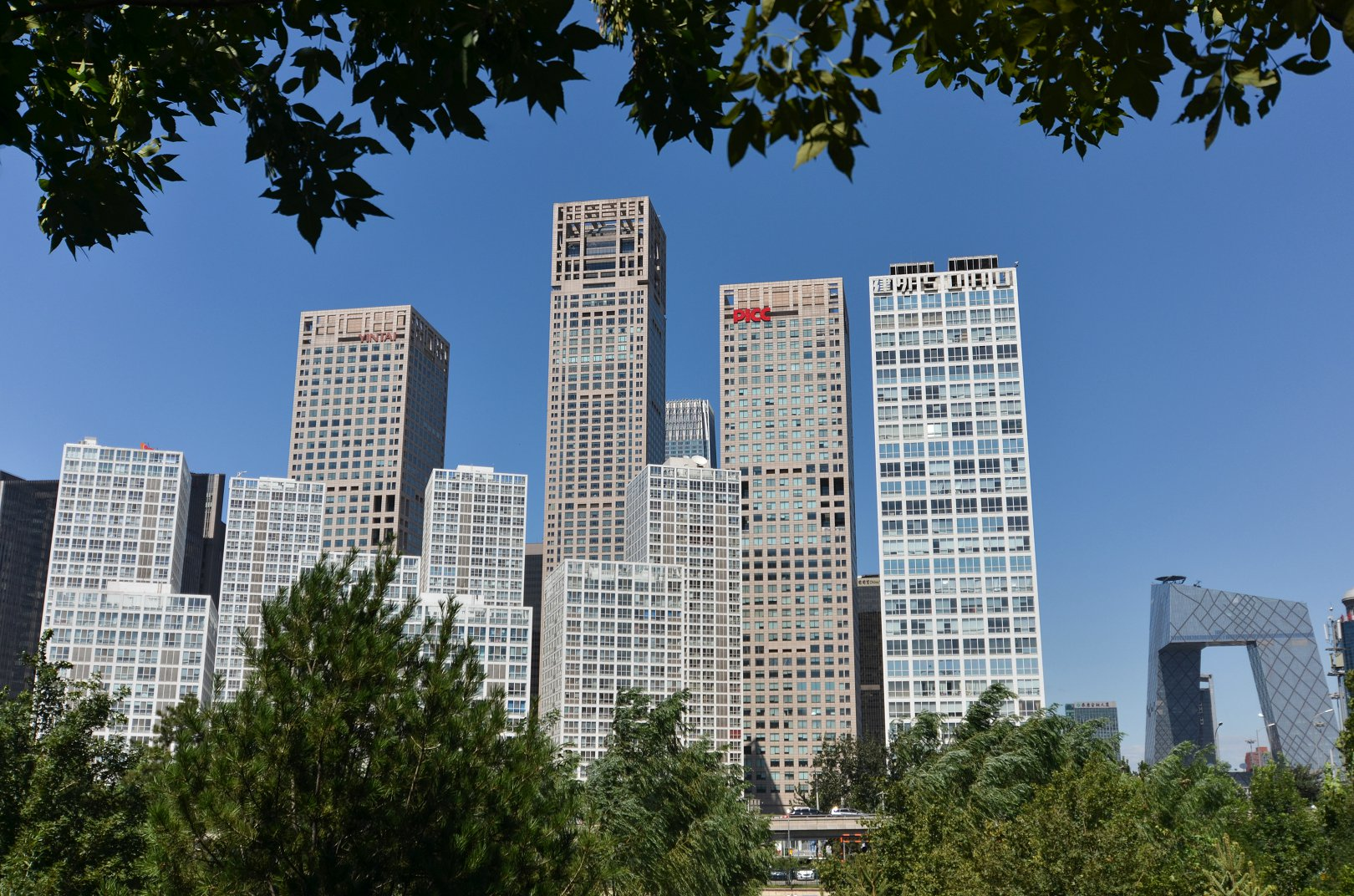城市印象,北京CBD商圈