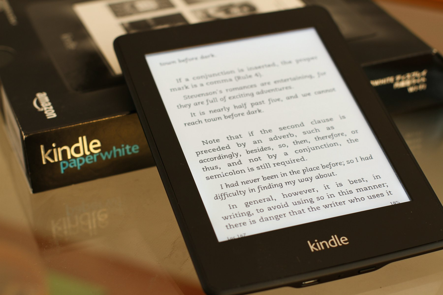 入手日版Kindle Paperwhite