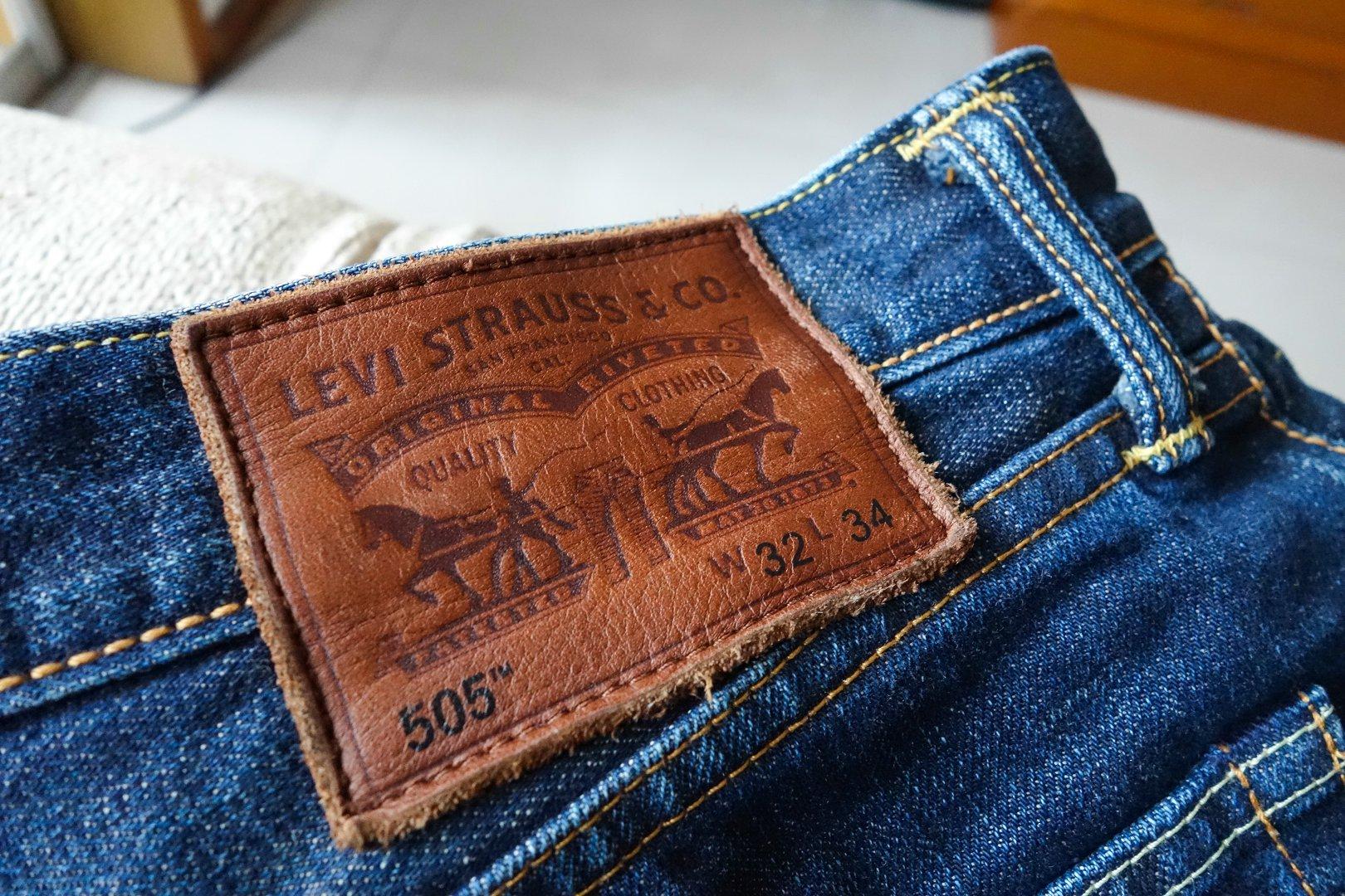 第二条牛仔裤-LEVI'S 505直筒86605-0008