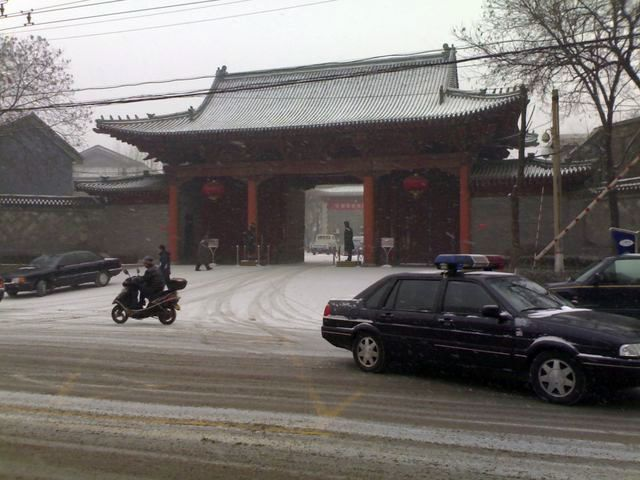 下雪了,天凉了