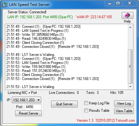 局域网测速工具LAN Speed Test分享- Slyar Home