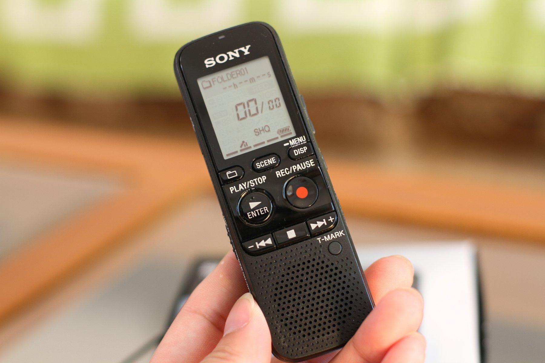 入手SONY PX312M索尼录音笔作为外置音源同步视频