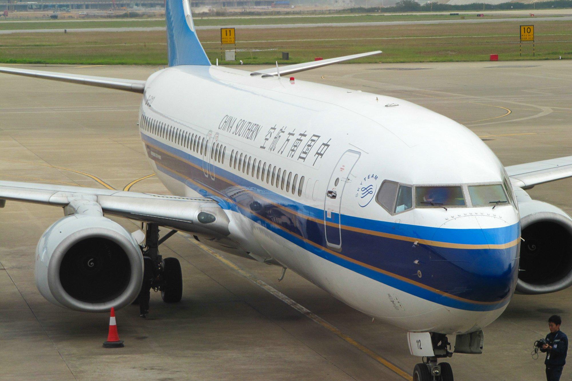 离开广西前往海南,波音737特辑