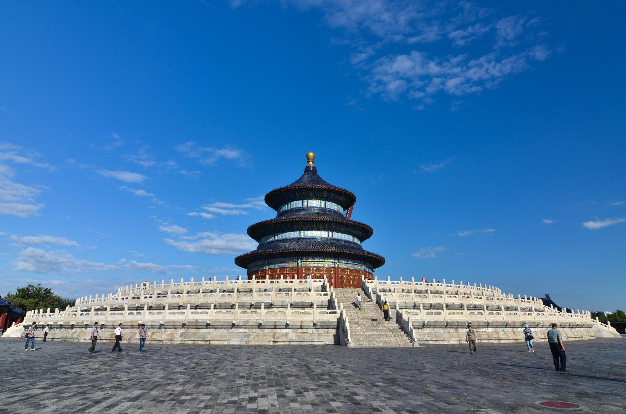 城市印象,北京天坛公园