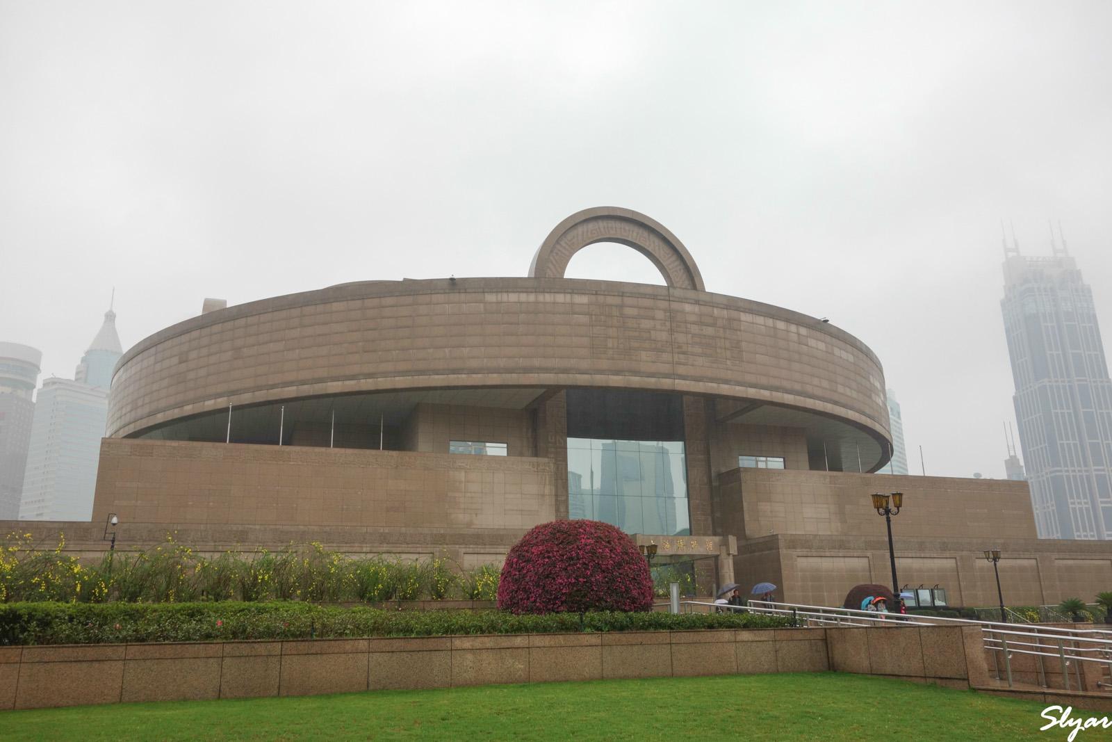 游上海博物馆