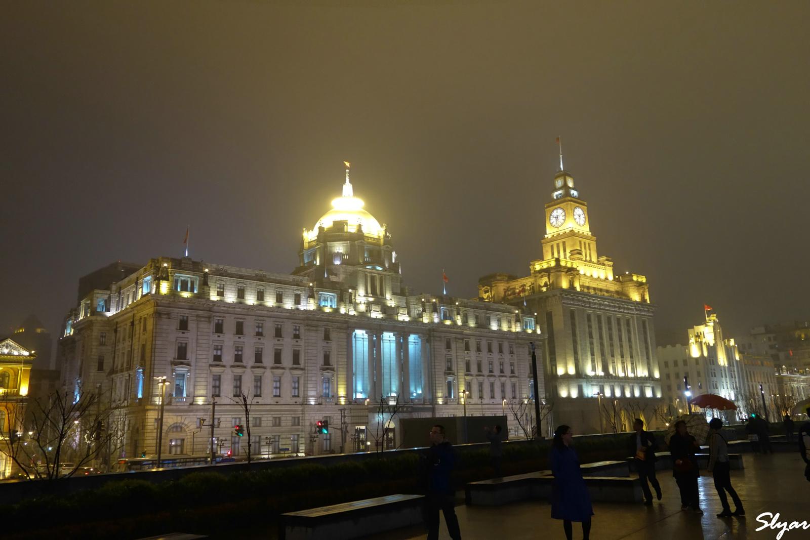夜游上海外滩