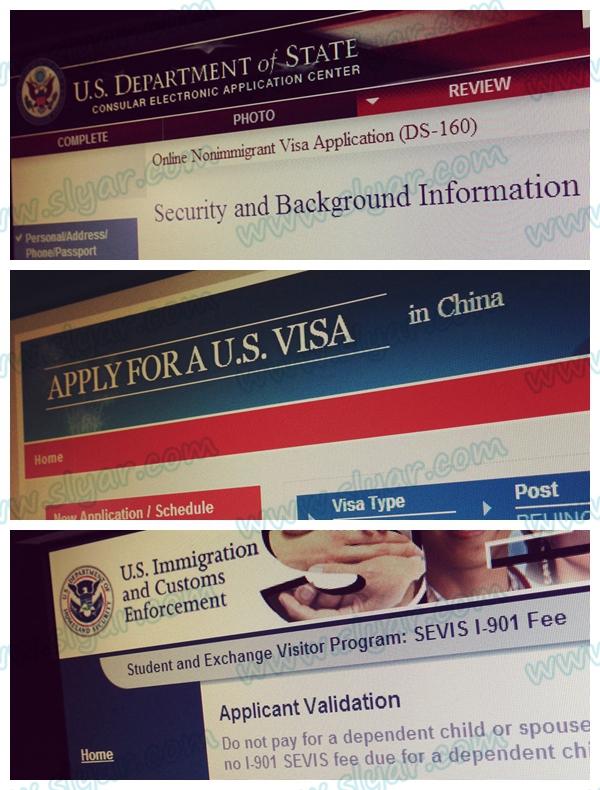 签证准备DS-160填写及付费注意事项