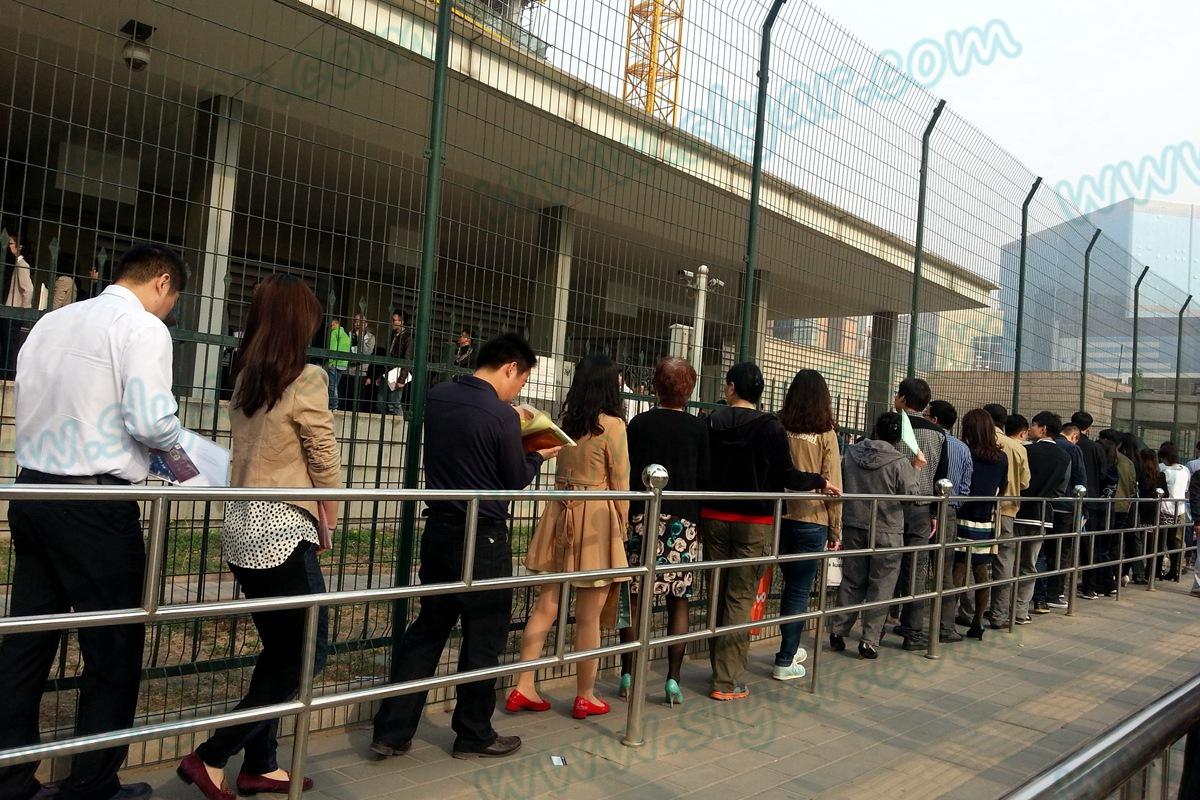 北京安家楼,F-1签证通过