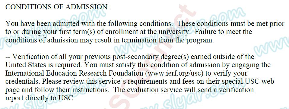 USC IERF学位认证攻略(国内寄送)