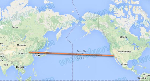 中美航线飞机究竟是怎么飞的