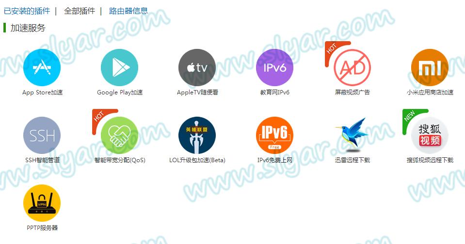 入手极路由1S简单配置动态域名和PPTP VPN