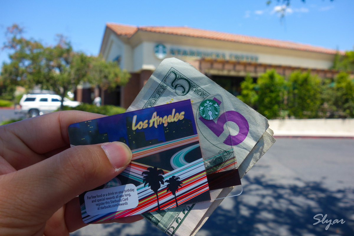 美国星巴卡星享卡及USC Starbucks