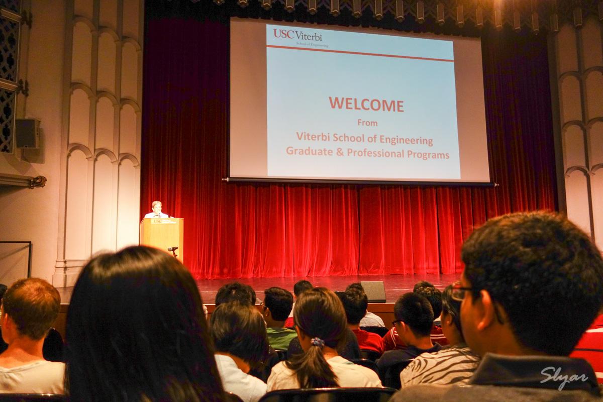 USC Viterbi Master's Student Orientation