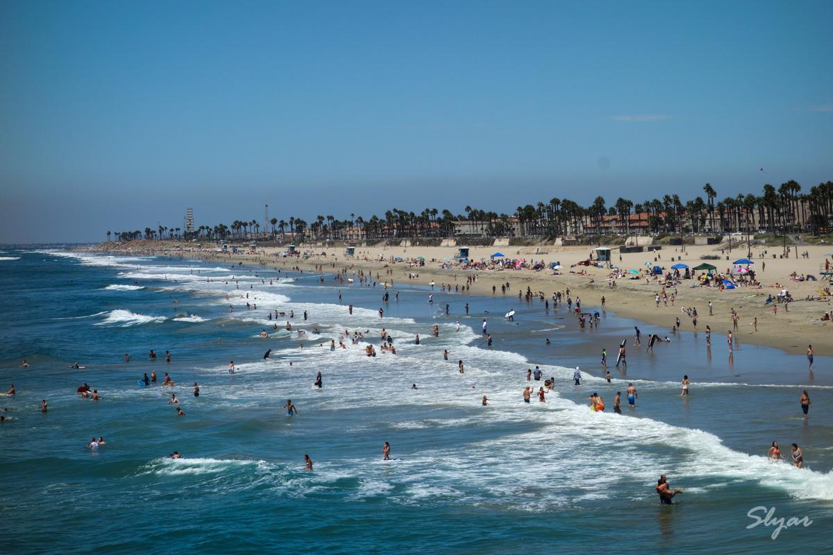 南加州Huntington Beach 亨廷顿海滩小游