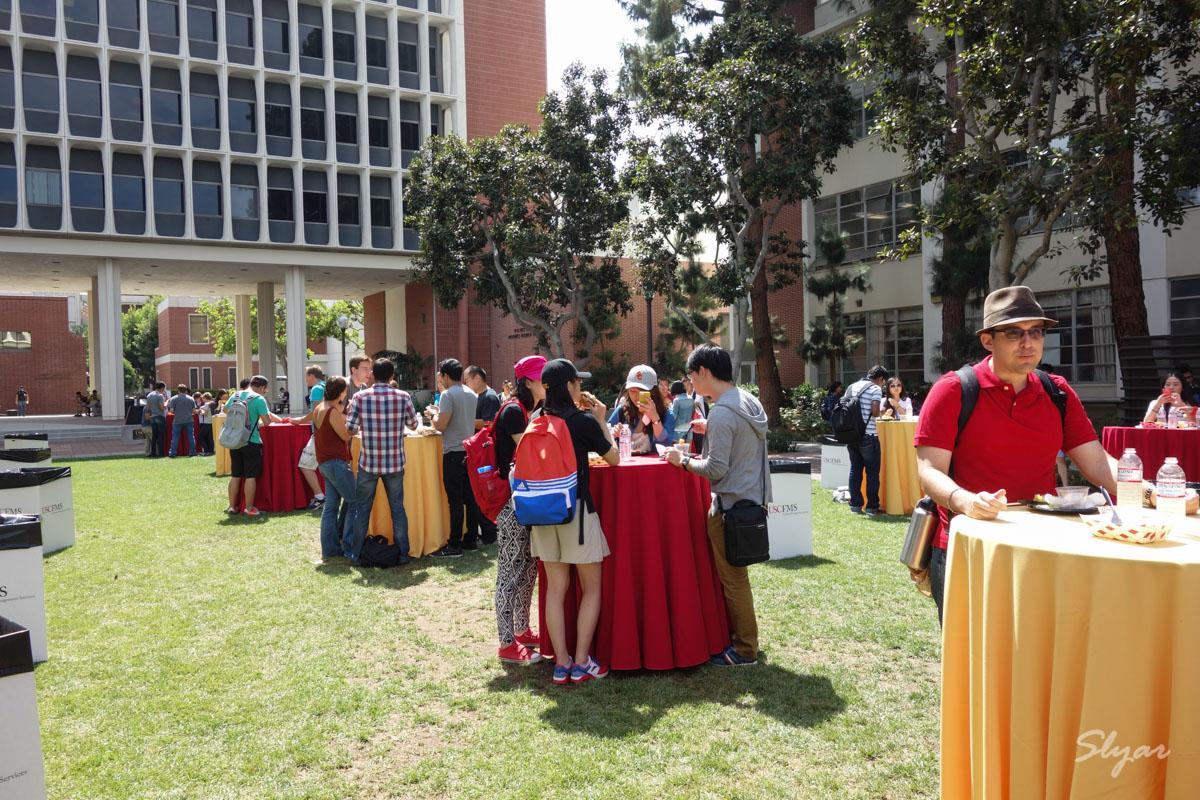USC Viterbi工程学院研究生新生欢迎午餐会