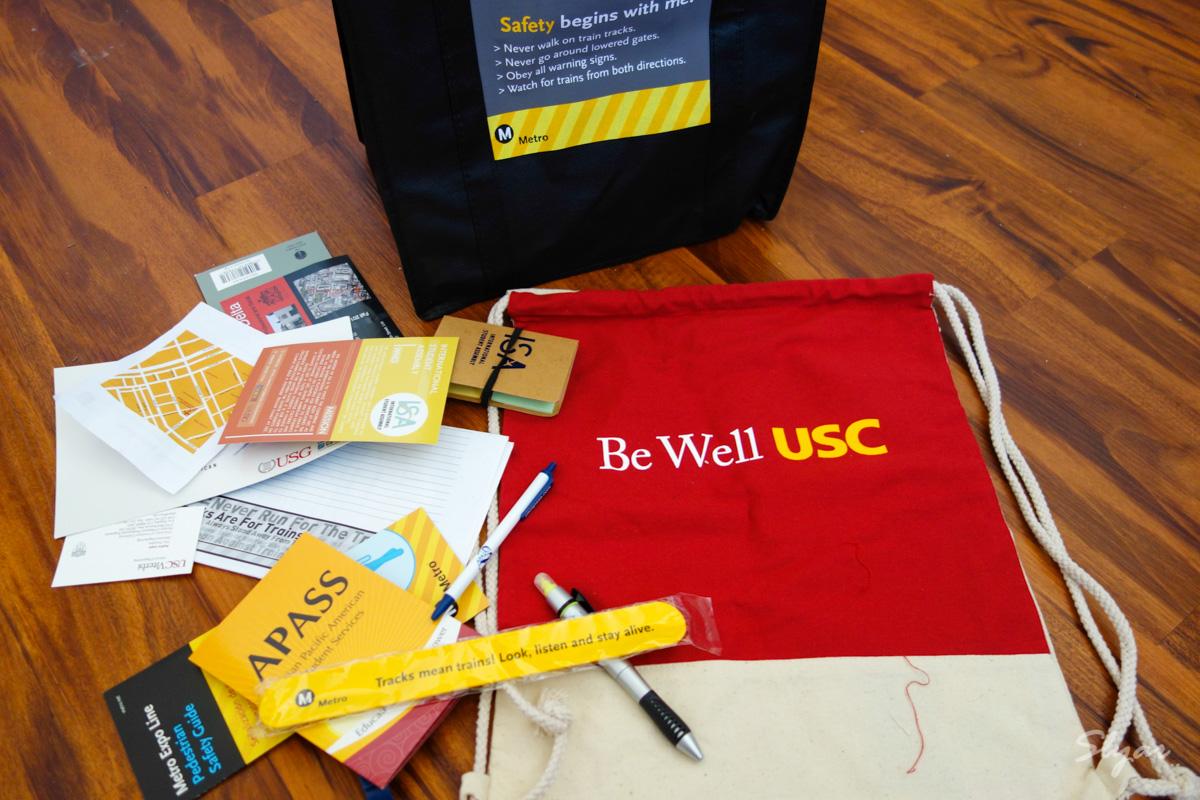 USC南加州大学社团宣传活动Involvement Fair