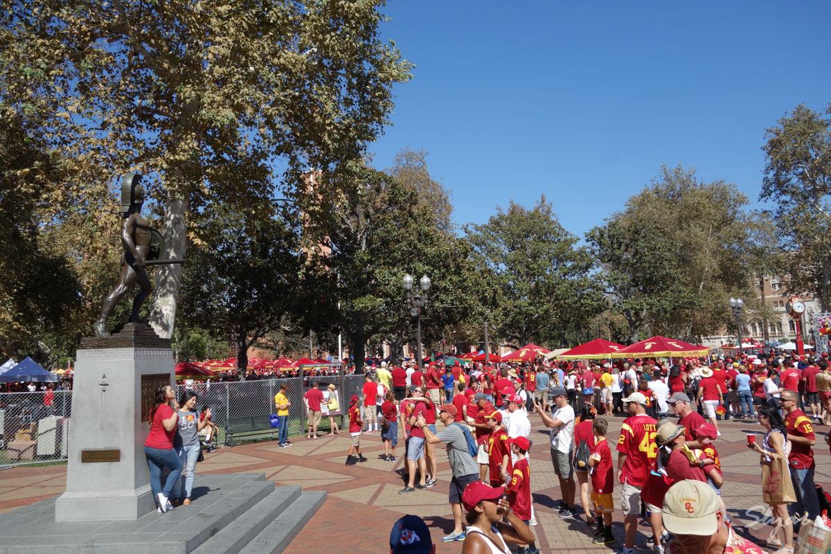USC南加州大学橄榄球开赛日Game Day Party