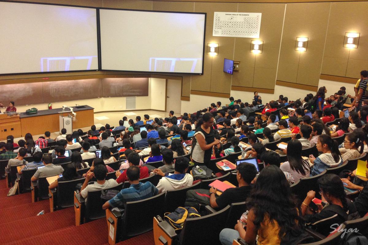 USC南加州大学研究生上课第一周