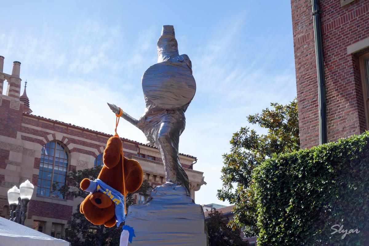 USC真正的吉祥物以及跟宿敌UCLA之间的历史故事