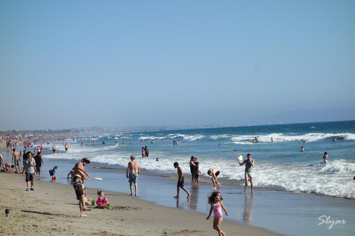 Santa Monica 洛杉矶圣莫妮卡海滩