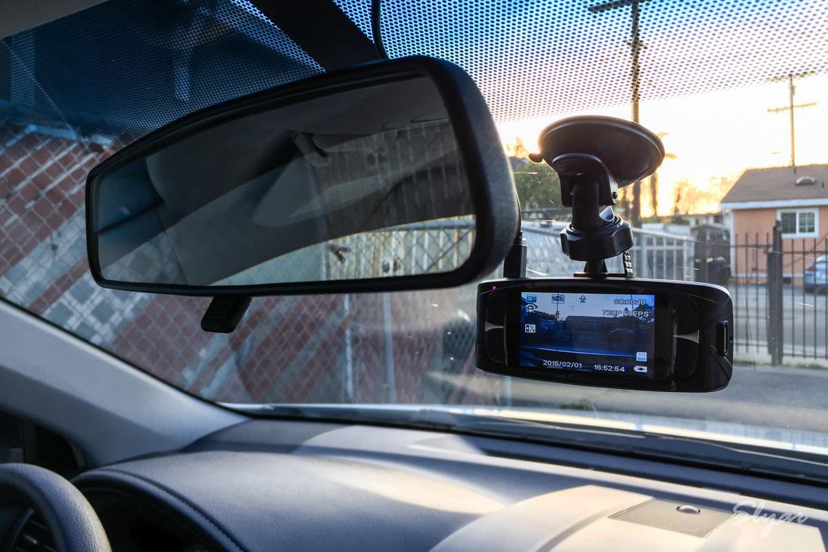 行车记录仪隐藏走线布置方法及G1WH记录效果视频