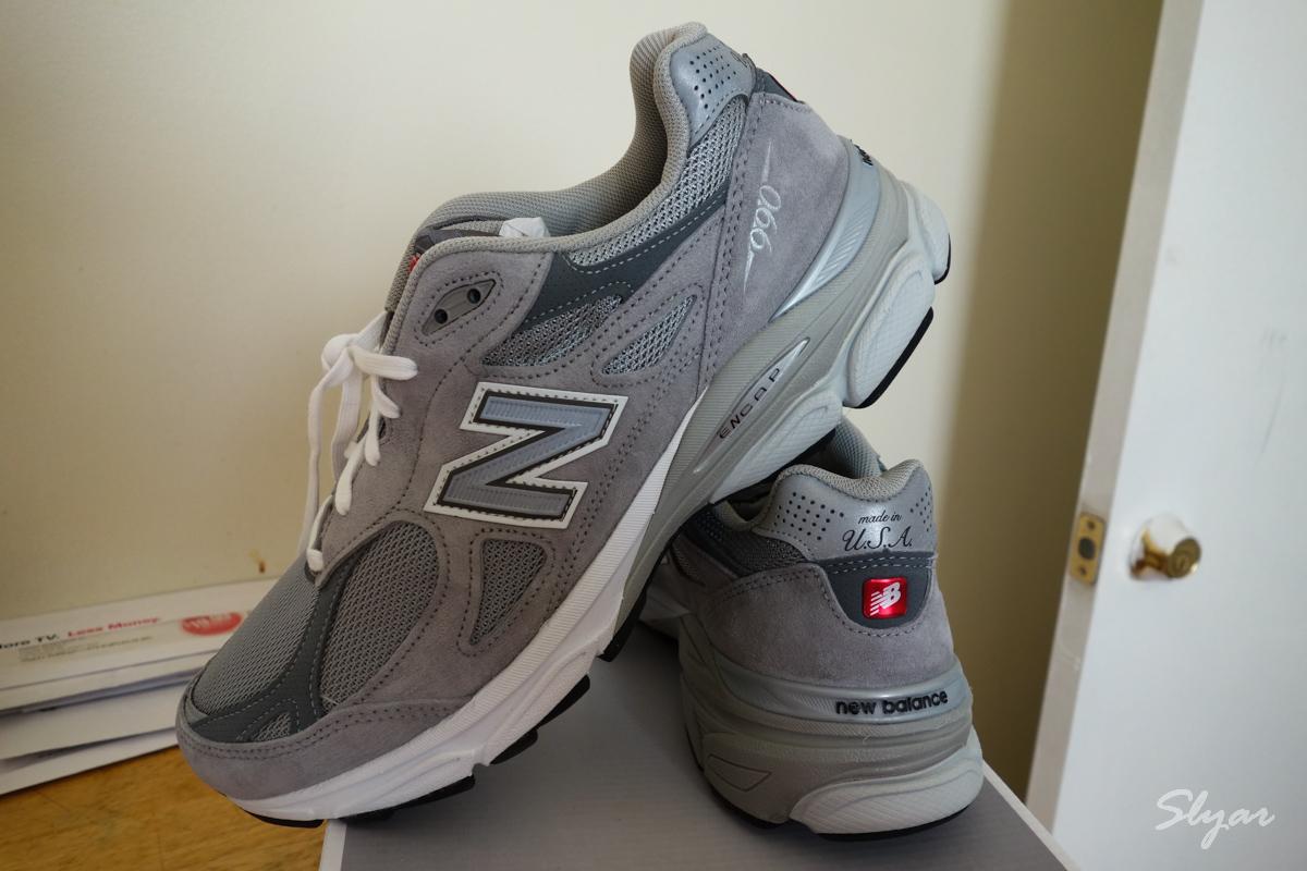 入手 New Balance 新百伦 990V3 总统慢跑鞋 超舒服