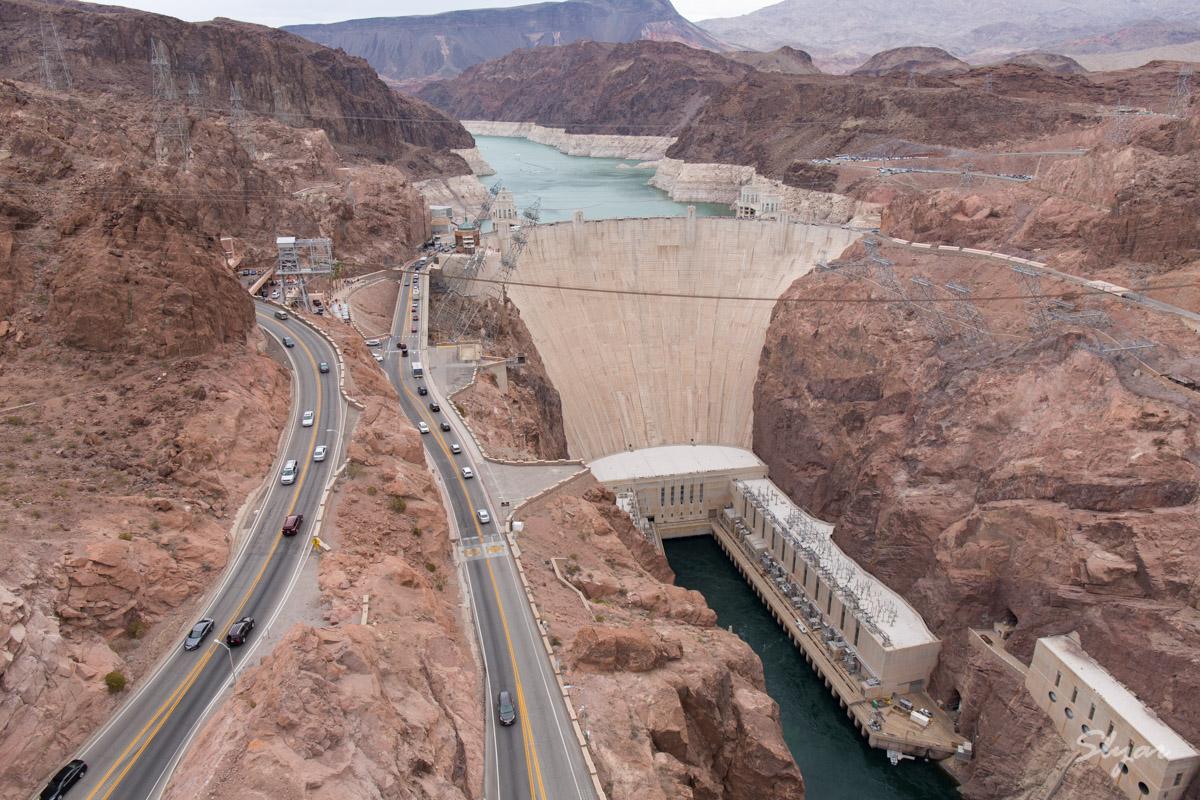 独立日游胡佛大坝(Hoover Dam)