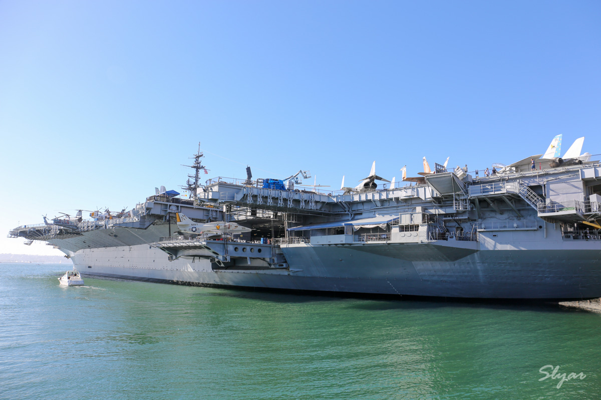 USS Midway 中途岛号航空母舰博物馆