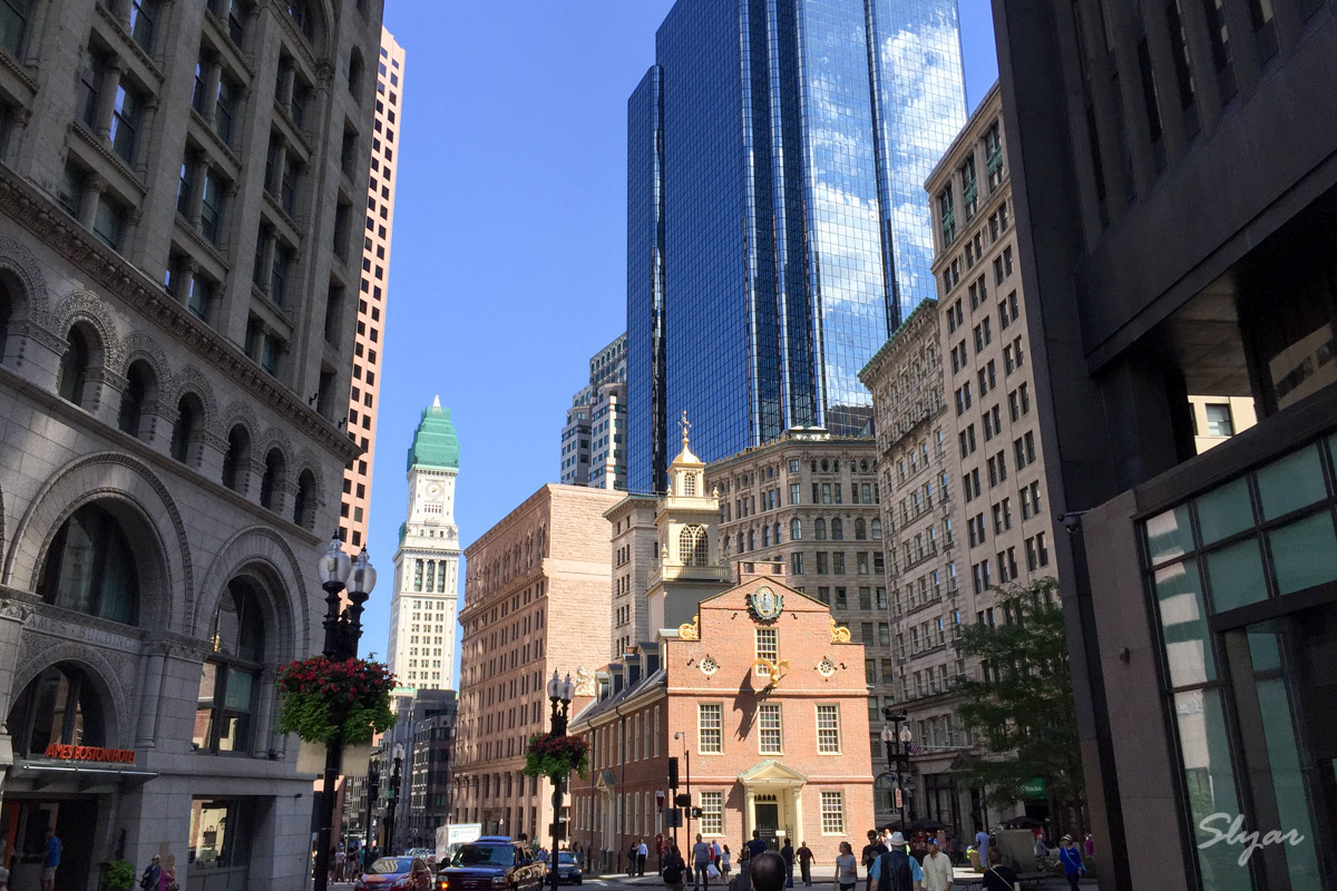 波士顿(Boston)三日匆匆一瞥
