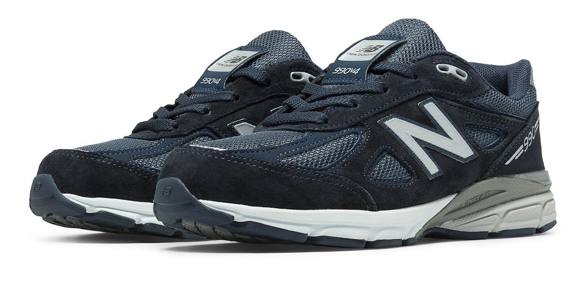 生日有新鞋,新百伦 New Balance 990V4 总统慢跑鞋