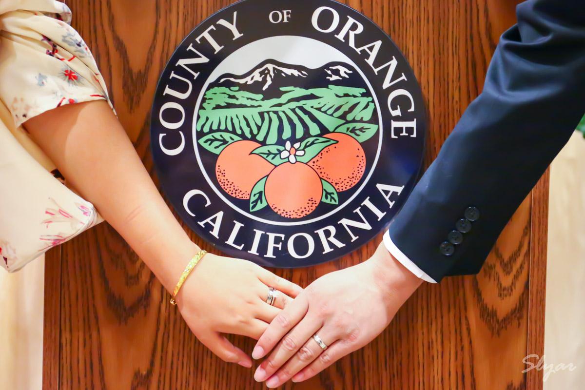 领证啦,在美国加州登记结婚