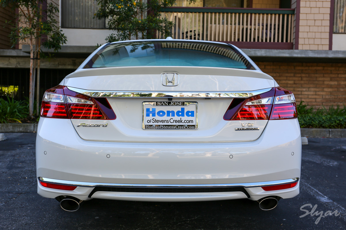我的新座驾:2016 Honda Accord (雅阁) Touring V6